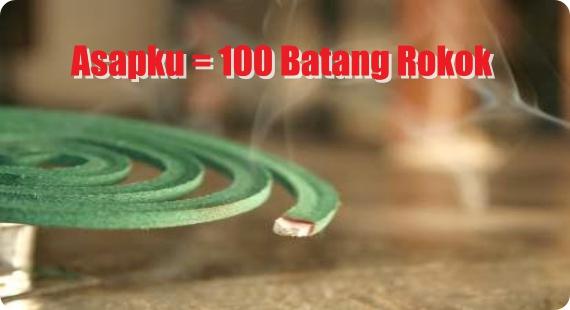 HATI-HATI!! Ternyata Bahaya Asap Obat Nyamuk Bakar Setara dengan 100 Batang Rokok