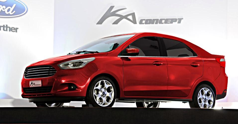 FABIO DESIGN AUTOMOTIVO: Ford Ka Sedan 2014