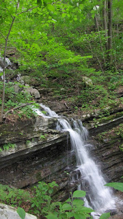 waterfall mountain tennessee elk valley beautiful
