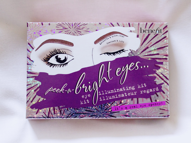 Benefit Peek-a-Bright Eyes Eye Palette Review