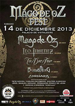 Mago de Oz Festival en Madrid en diciembre