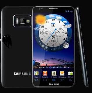 O novo smartphone da Samsung.