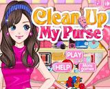 لعبة تنظيف حقيبة اليد