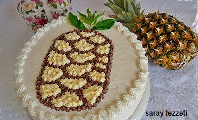 ananas-desenli-yas-pasta