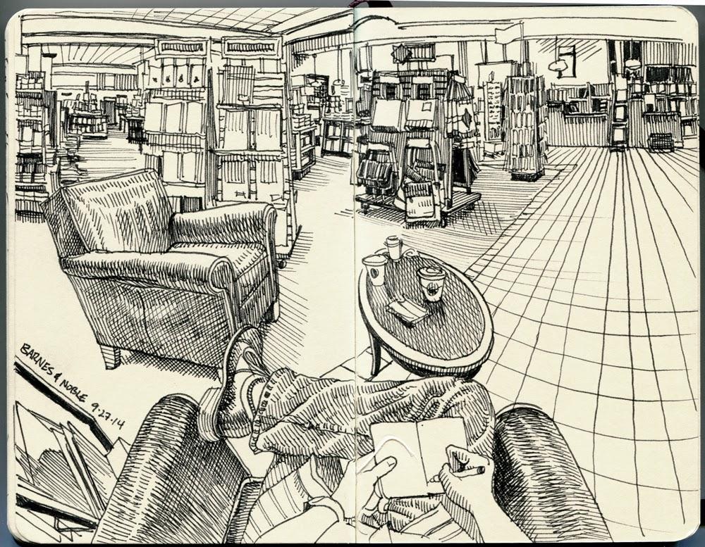 17-Paul-Heaston-Moleskine-Drawings-Points-of-View-www-designstack-co