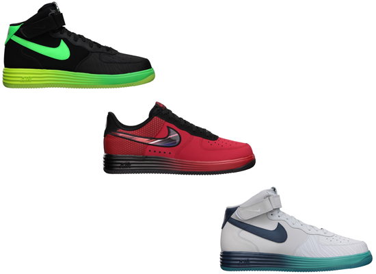 Three new Nike Lunar Force 1\u0026#39;s hit stores recently. One low and two mid\u0026#39;s. First up, the Nike Lunar Force 1 LTR. This pair is known as the \u0026quot;Super Hero\u0026quot; ...