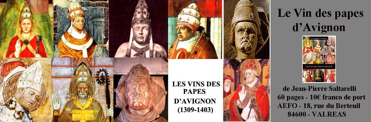 LES VIN DES PAPES D'AVIGNON
