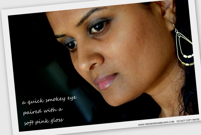 Soft Brown Smokey Eye Makeup Steps Tutorials How to Day Time Wearable Indian Beauty Blog EOTD