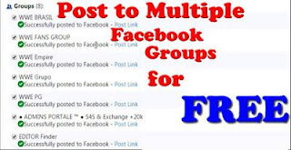 How To Post to Multiple Facebook Groups, Twitter,Google+