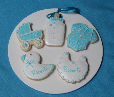 Galletas decoradas bebe
