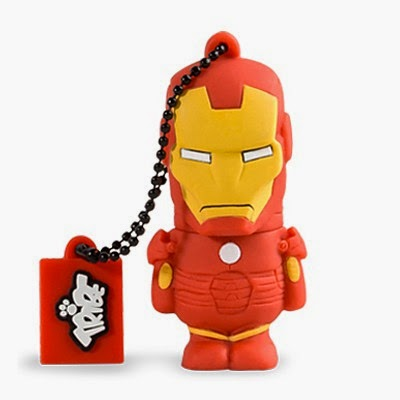 Memoria USB 8 GB Iron Man