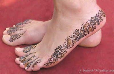 Easy Feet Mehndi Designs : Jesus de tattoos easy mehndi designs for feet