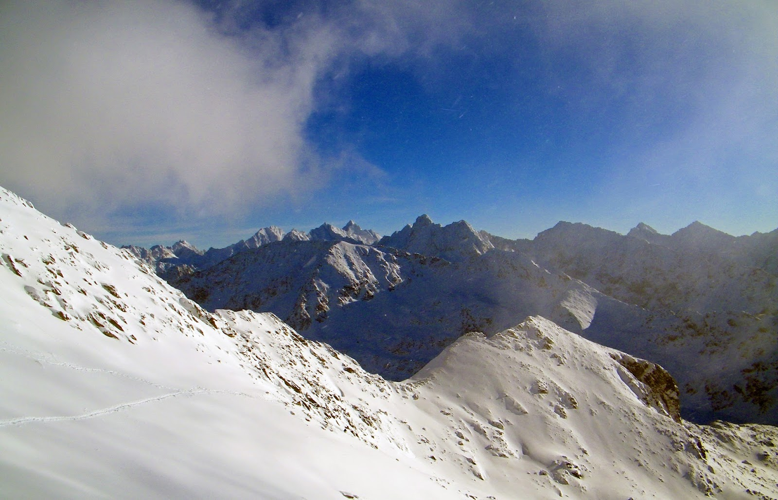 Tatry, Zima, Szklane góry
