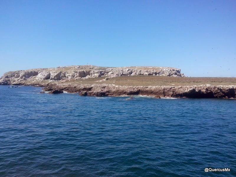 Isla La Redonda, donde se encuentra la playa escondida