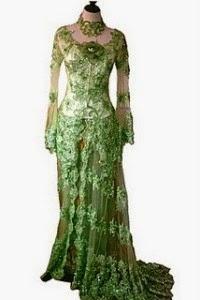 Foto Model Baju Kebaya 2014 Terbaru