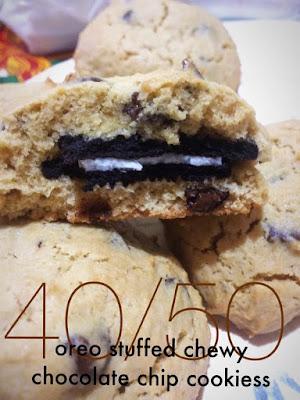oreo choco chip cookies