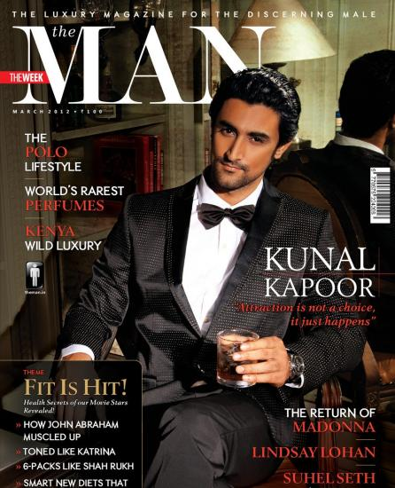 Kunal Kapoor the Man Magazine1 - Kunal Kapoor on the cover of The Man - March 2012