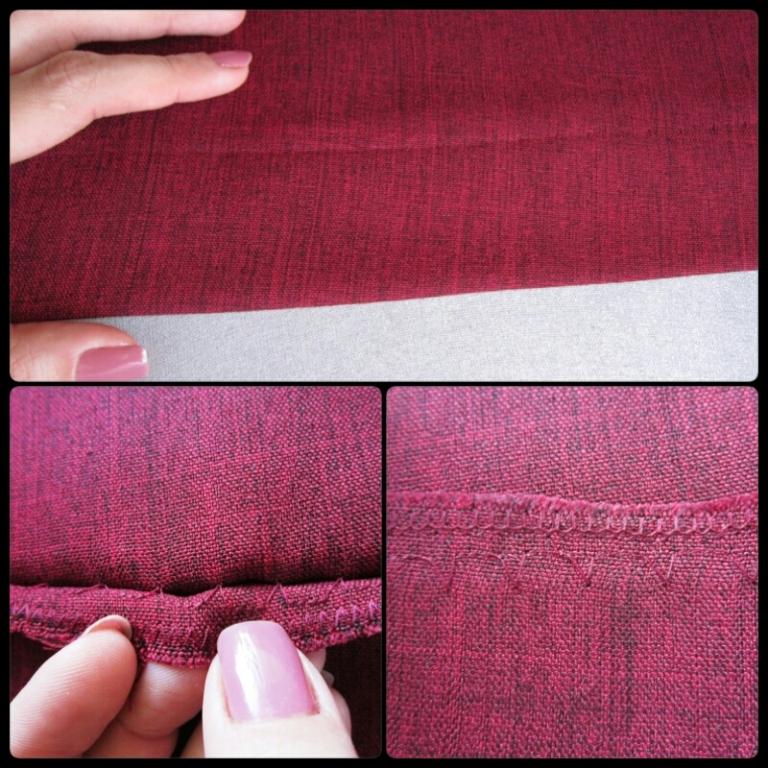 moda estilo costura saia longa evasê vinho rubi