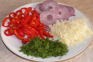 omleta ingrediente, ingrediente omleta, legume pentru omleta, retete cu legume, reteta omleta, retete culinare, preparate culinare, retete de mancare, omleta cu legume, omleta de primavara,