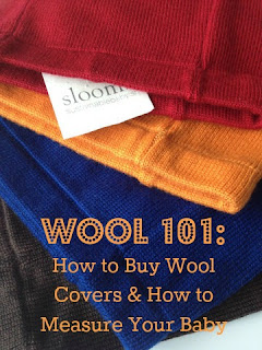 Wool 101: How to Buy Wool Diaper Covers and How to Measure Your Baby @ClothDiaperWhis