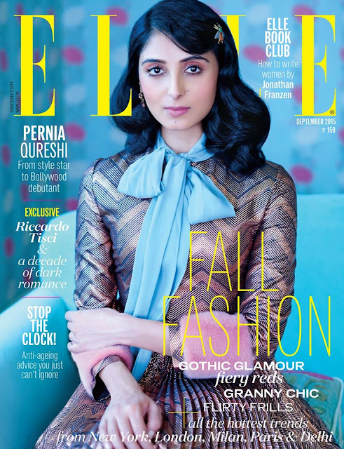 Actress @ Pernia Qureshi - Elle India, September 2015