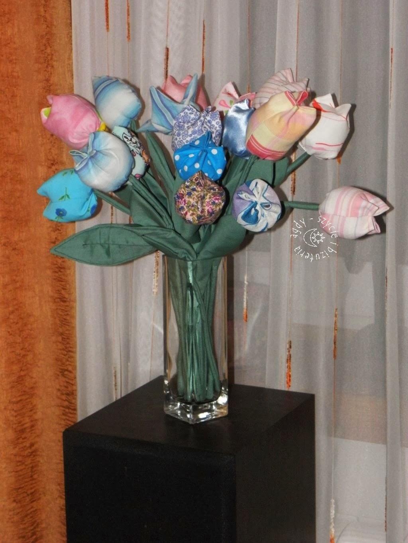 Tulipany na różowo