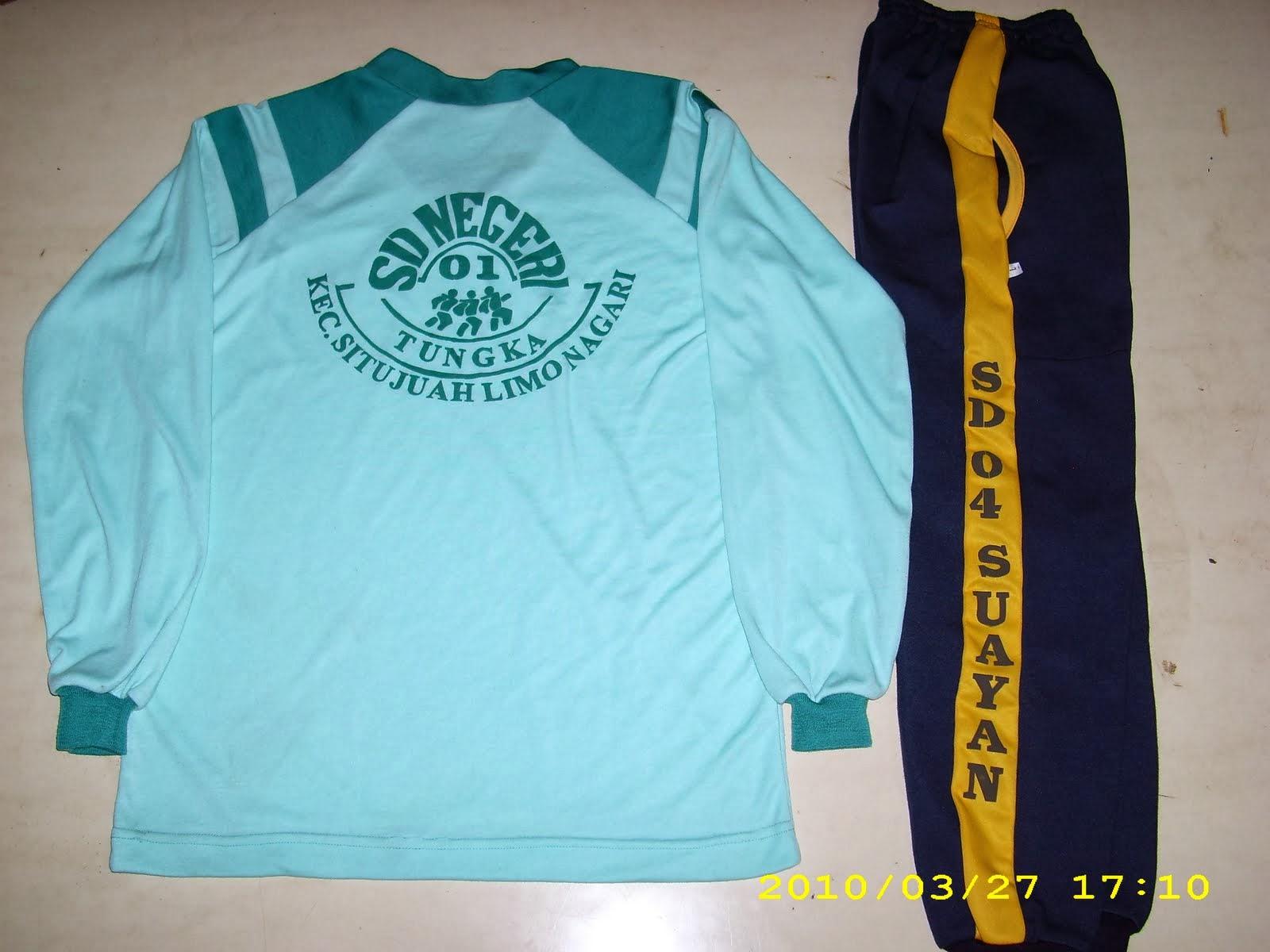 tawazun konveksi: Dapat Order 70stel Kaos Olahraga SD