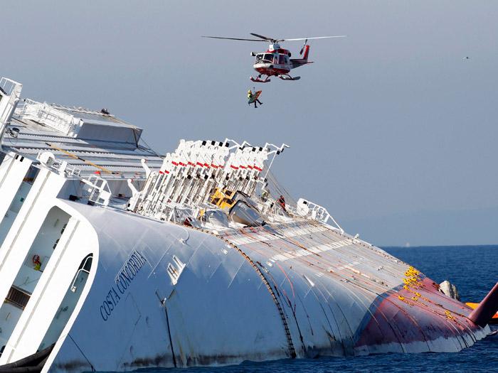 Titanic e Costa Concórdia