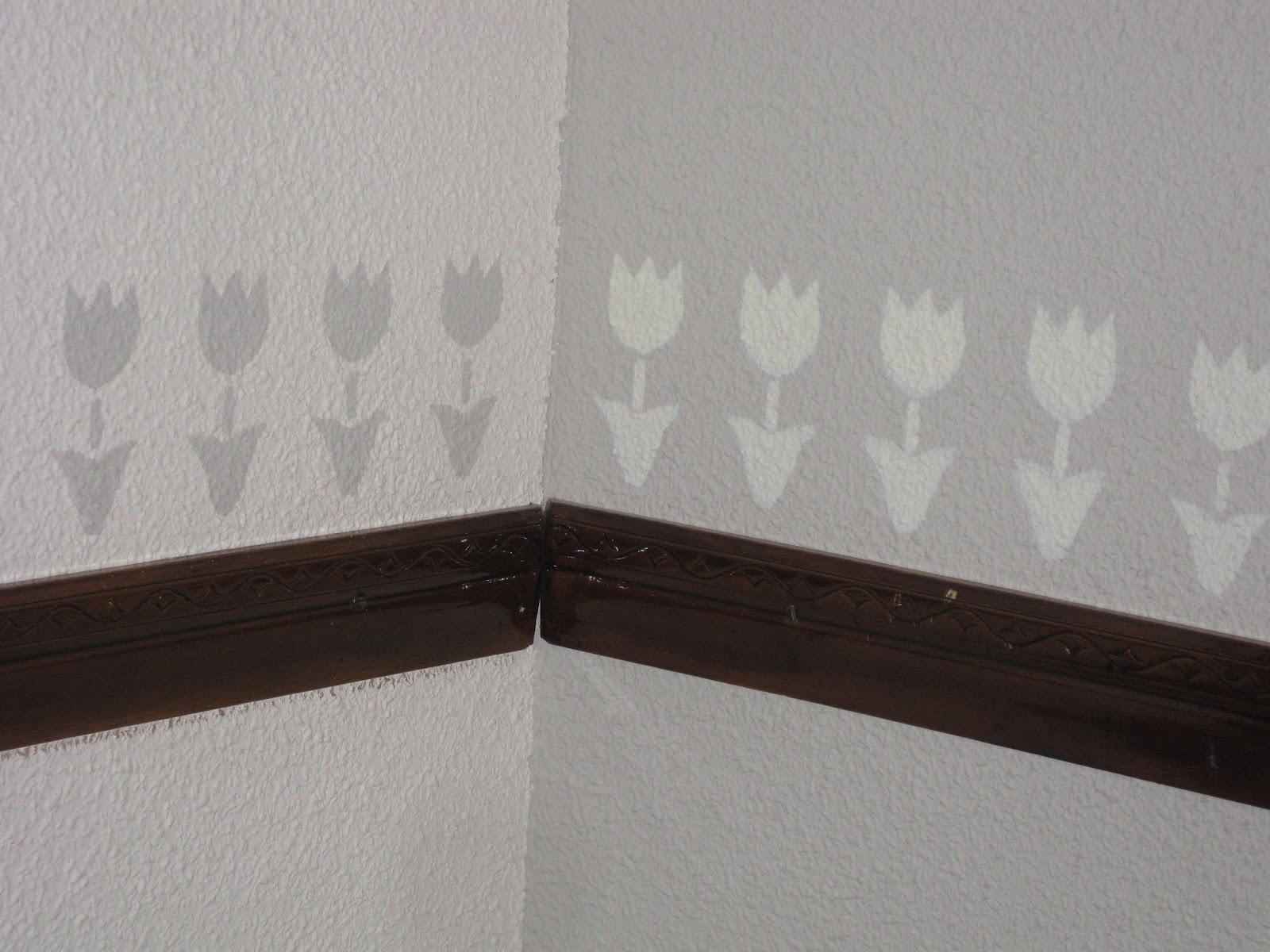 Las ideas de nuria cenefas y plantillas de estarcir - Plantillas pared ...
