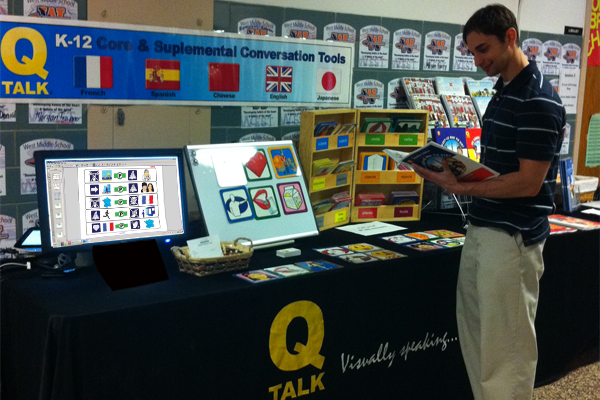 rowse the QTalk books and watch demonstrations at our exhibit table.