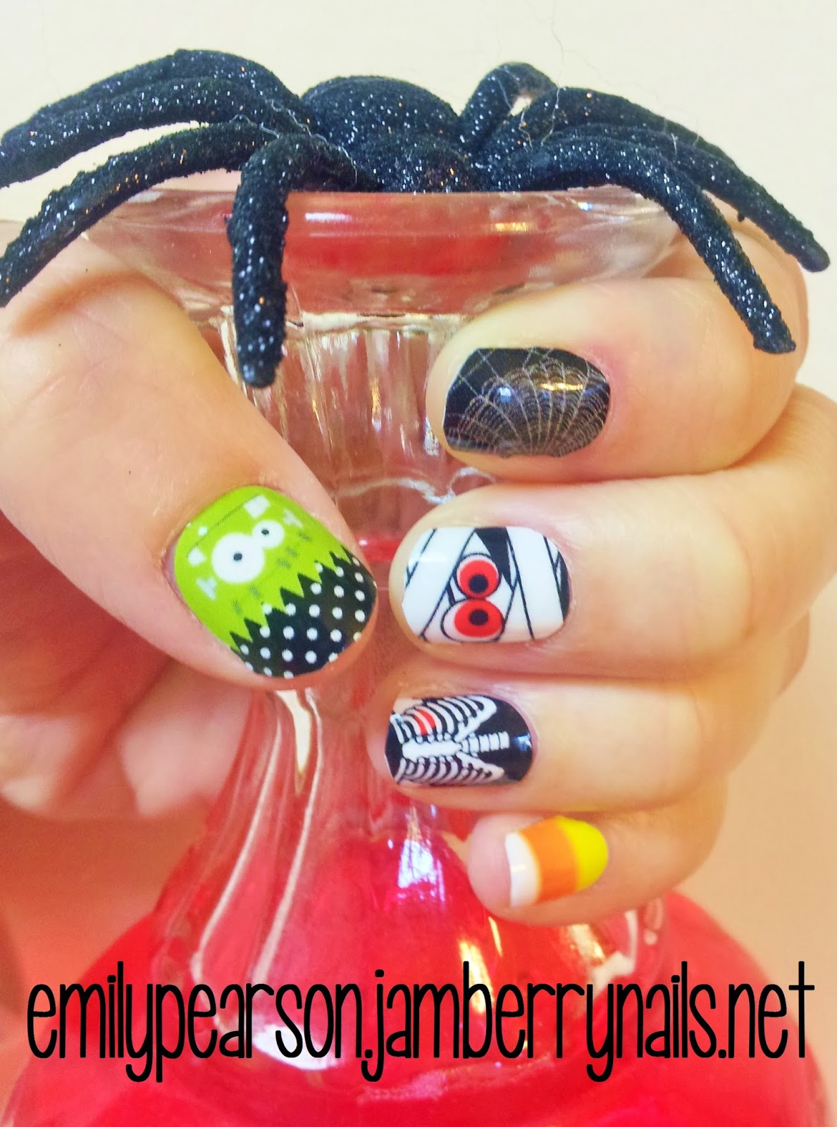 Emily Pearson - Jamberry Independent Nail Consultant: HAPPY HALLOWEEN!!
