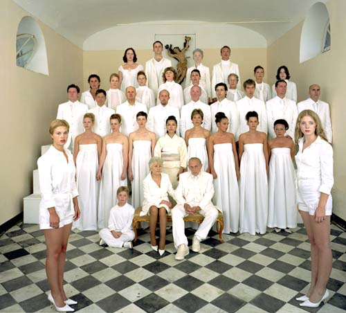 Vanessa Beecroft, the wedding