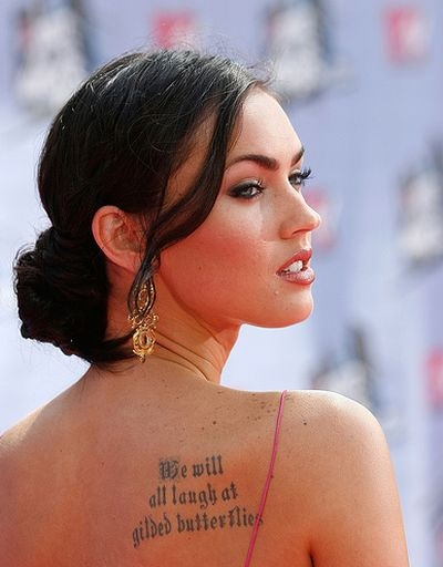 Megan Fox Tattoos | Wallpaper Imagenes