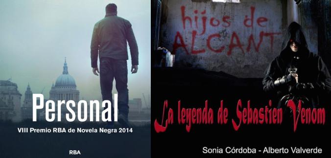 Nueva Promoción, sorteo de dos libros: Personal, de Lee Child y La Leyenda de Sebastien Venom, de Sonia Córdoba y Alberto Valverde