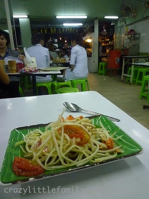Som Tam, Green Papaya Salad, Expat Blog Photo