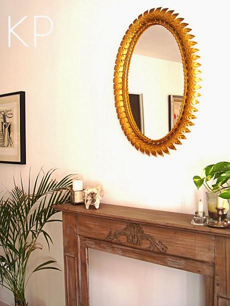 kp tienda vintage online espejo sol vintage dorado