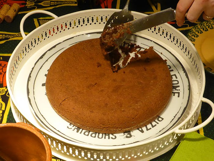Quasi torta Barozzi, cioccolato e caffé