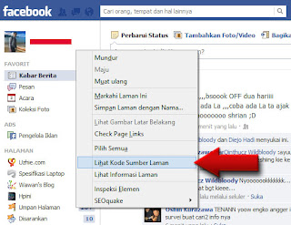 Cara mengetahui siapa yang melihat profil facebook kita