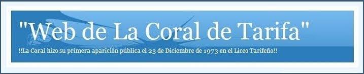 """""""C0RAL DE TARIFA"""""""