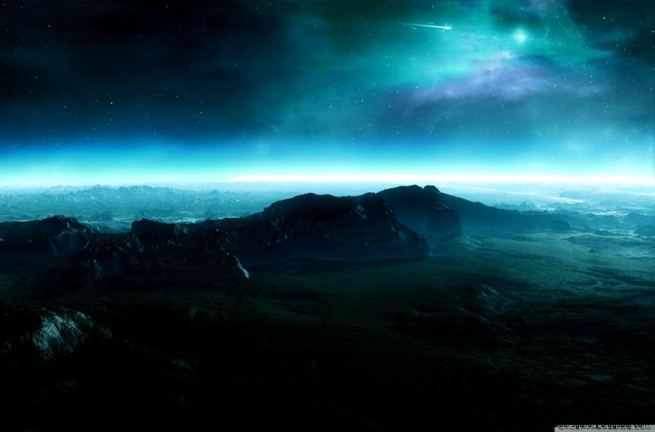 Alien Landscape HD desktop wallpaper  Widescreen  High