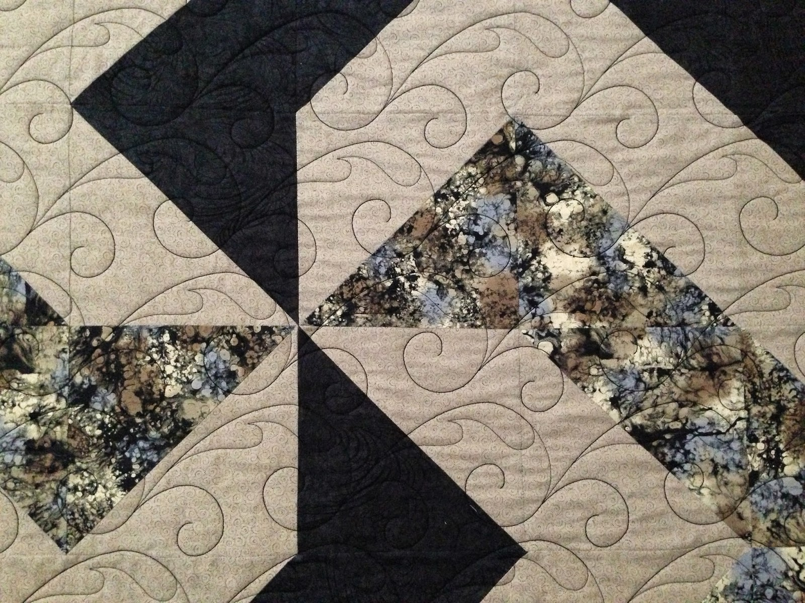Peggy Krebs Anymmetrical Pinwheel Quilt