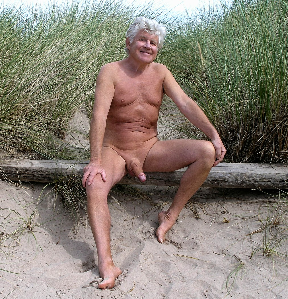 in the dune with mature gay