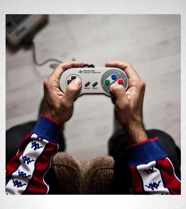 Controles de Videogame - Javier Laspiur
