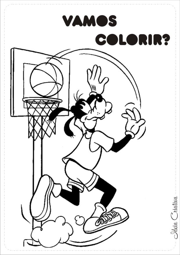 Jogando Basquete Para Colorir Se Voce Procura Desenhos Para Colorir
