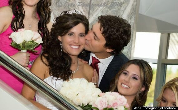 Justine hanley wedding