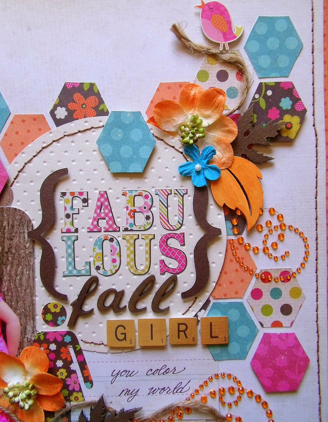 scrap-utopia  fabulous fall girl