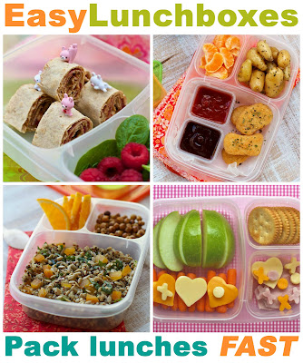 EasyLunchBoxes, Bento Lunch Box, Homemade Lunchables, Healthy Lunches