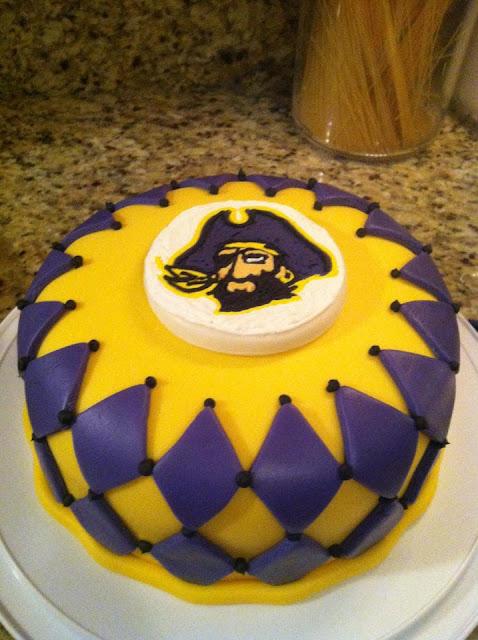 Lsu Cake Decorations