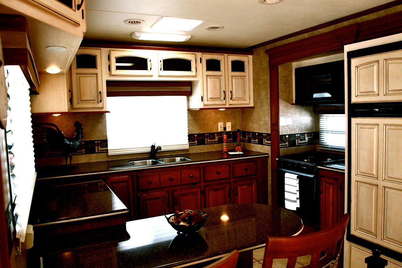Stone ridge cabinets april 2012 - 2012 Kzrv 36rk Stoneridge Fifth Wheel