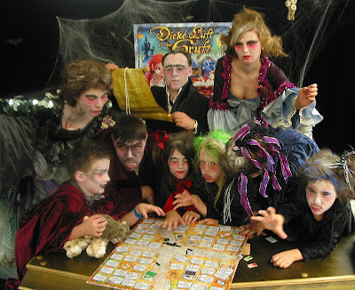 Dicke Luft in der Gruft - Something magical has happened to the players of this game!